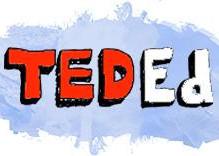 Logo della piattaforma Ted Ed