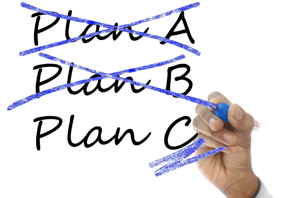 Selezione dei piani nella pianificazione delle lezioni on line