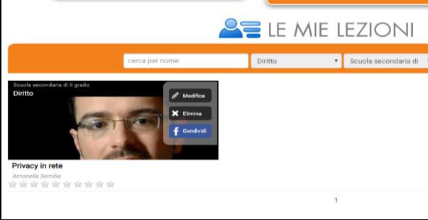 """Immagine del menu """"Le mie lezioni"""" del sito rai scuola"""